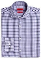 HUGO Meli Medium Check Windowpane Overcheck Sharp Fit - Regular Fit Dress Shirt