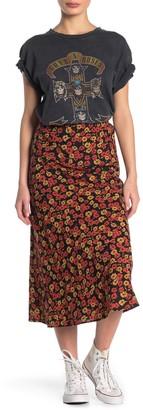 RD Style Woven Printed Midi Skirt