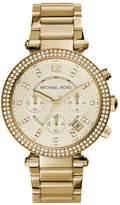 Michael Kors PARKER Chronograph watch goldcoloured