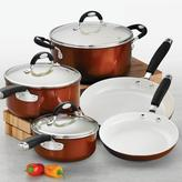 Tramontina Style Ceramica 8-Piece Cookware Set in Metallic Copper