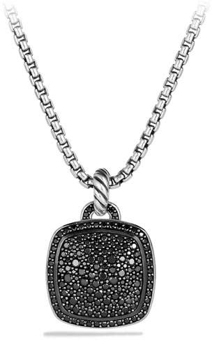 David Yurman Albion Pendant with Black Diamonds, 17mm