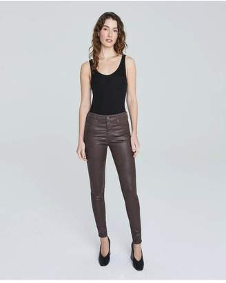 AG Jeans The Farrah Skinny - Leatherette Lt Raleigh Brown