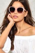 Nasty Gal nastygal A Rose by any Name Embellished Shades