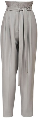 ANOUKI High Waist Faux Leather Pants