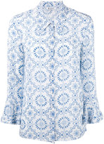 Dondup printed shirt - women - Silk - 42