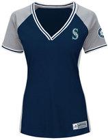Majestic Women's Seattle Mariners League Diva T-Shirt