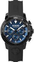 Versus S30060017 Aberdeen stainless steel and rubber watch