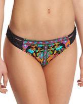 Nanette Lepore King's Road Charmer Braid-Side Printed Swim Bottom