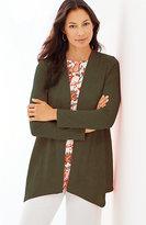 J. Jill Linen Cardi