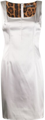Dolce & Gabbana Pre-Owned 1990s Square Neck Dress