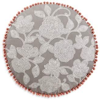 "Sky Round Flower Decorative Pillow, 20"" x 20"" - 100% Exclusive"