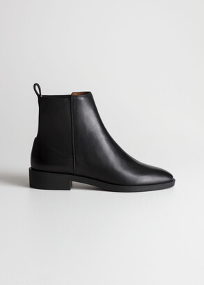 And other stories Chelsea Leather Boots
