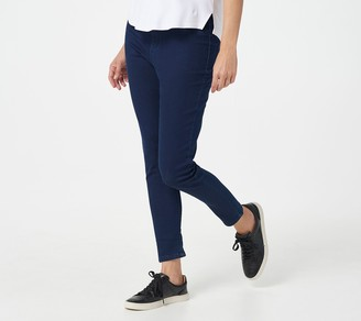 Denim & Co. Petite Comfy Knit Pull-On Jeggings