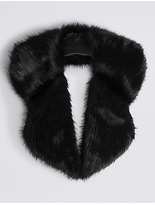 M&S Collection Faux Fur Collar Scarf