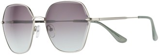Elle Women's Silver Tone Novelty Sunglasses
