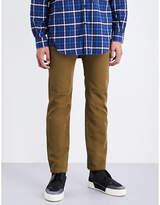 Balenciaga Utility slim-fit cotton-twill trousers