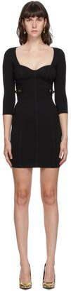Versace Black Bustier Dress