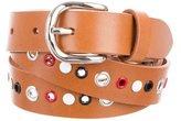 Isabel Marant Leather Grommet Belt