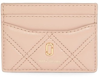 Marc Jacobs The Softshot Quilted Leather Card Case