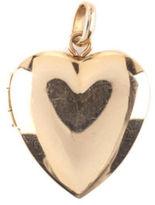 Tiffany & Co. 14kt Yellow Gold Heart Locket Bail 19x20mm Pendant