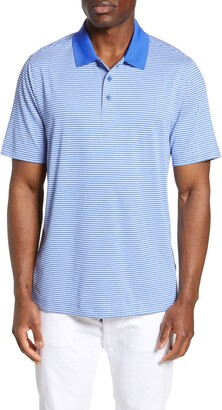 Cutter & Buck Forge DryTec Classic Fit Stripe Performance Polo