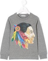 Moncler american native print T-shirt