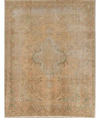 "Charlton Home Obaseki Antique Muted Persian Oriental Handmade Wool Distressed Rug 12'5""X9'7"" Charlton Home"