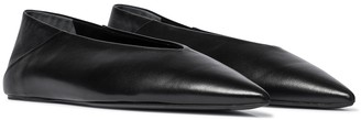 Jil Sander Leather ballet flats