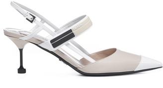 Prada Sling Back 6.5 High-heeled Shoe