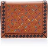 Bottega Veneta Chain Strap Multicolor Leather Wallet
