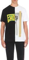 Palm Angels Exodus print cotton-jersey t-shirt