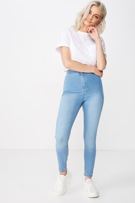 Supre Short Leg Super Skinny Sky High Jean