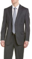Kroon Bishop Wool Suit With Flat Pant.