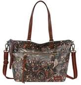 Sakroots Women's Artist Circle City Satchel - Sienna Spirit Desert Casual Handbags