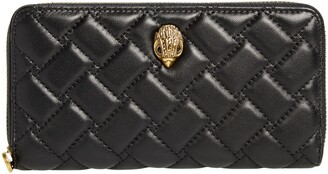 Kurt Geiger London Eagle Leather Zip Around Wallet