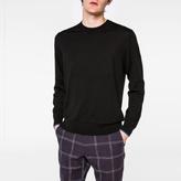 Paul Smith Men's Black Merino-Wool Sweater