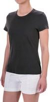 Allen Allen Mesh T-Shirt - Short Sleeve (For Women)
