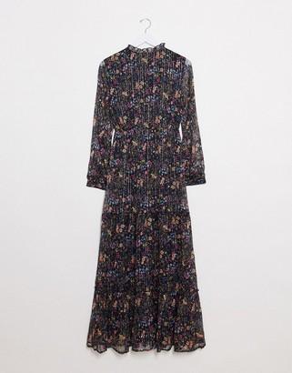 Vero Moda high neck maxi dress in floral