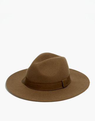 Madewell x Biltmore Shaped Felt Hat