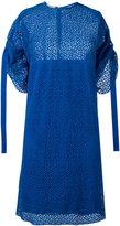 Nina Ricci perforated dress - women - Silk - 36