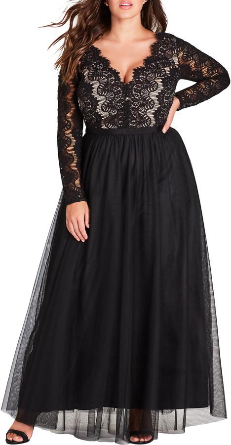 City Chic Rare Beauty Maxi Dress