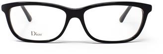 Christian Dior Rectangular Frame Glasses