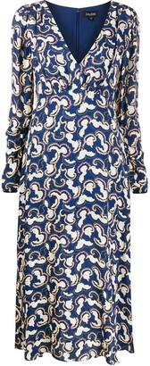 Saloni Printed Midi Dress