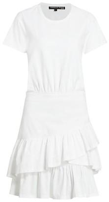 Veronica Beard Noha Flounce T-Shirt Dress