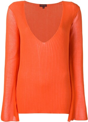 Romeo Gigli Pre-Owned Ribbed Top