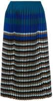 Marni micro pleated midi skirt