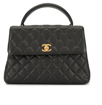 Chanel Pre Owned quilted CC handbag