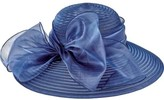 San Diego Hat Company Women's Poly Dress Hat with Oversized Bow DRS1010