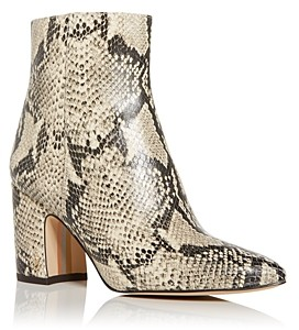 Sam Edelman Women's Hilty Pointed Toe High Block Heel Booties