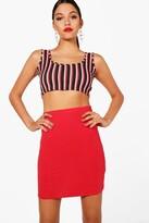 boohoo Tall Maisy Basic Mini Skirt